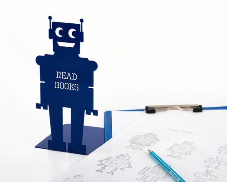 Фото - Держатель для книг Робот купить в киеве на подарок, цена, отзывы