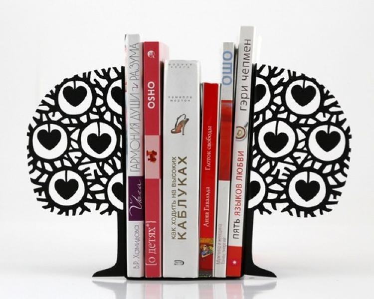 Фото - Держатель для книг Влюбленное дерево купить в киеве на подарок, цена, отзывы