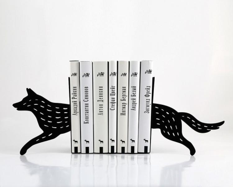 Фото - Держатель для книг волк купить в киеве на подарок, цена, отзывы