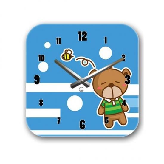 Фото - Детские настенные часы Bear купить в киеве на подарок, цена, отзывы