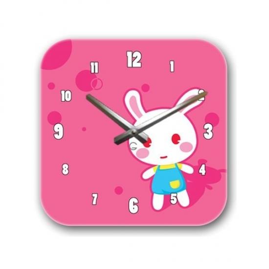 Фото - Детские настенные часы Bunny купить в киеве на подарок, цена, отзывы