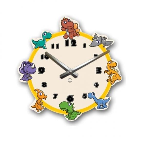 Фото - Детские настенные часы Dinosaurs купить в киеве на подарок, цена, отзывы