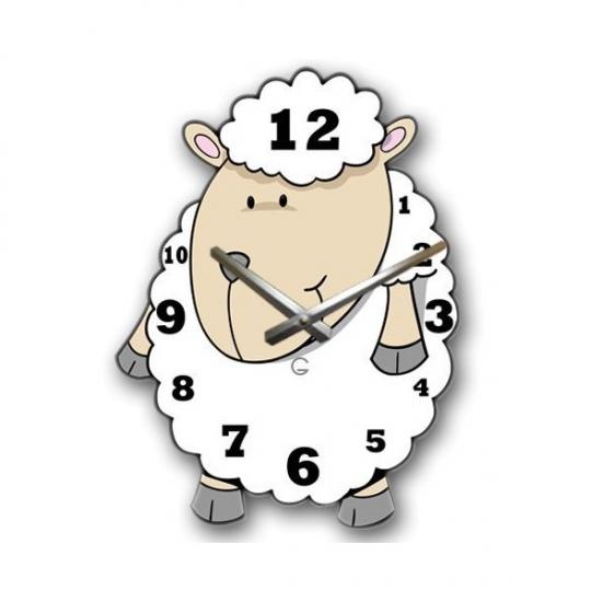 Фото - Детские настенные часы Dolly купить в киеве на подарок, цена, отзывы