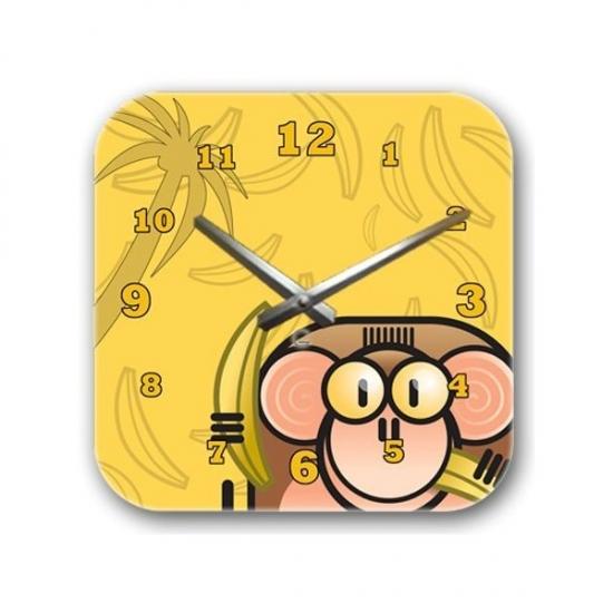 Фото - Детские настенные часы Monkey купить в киеве на подарок, цена, отзывы