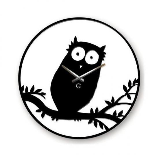 Фото - Детские настенные часы Owl купить в киеве на подарок, цена, отзывы