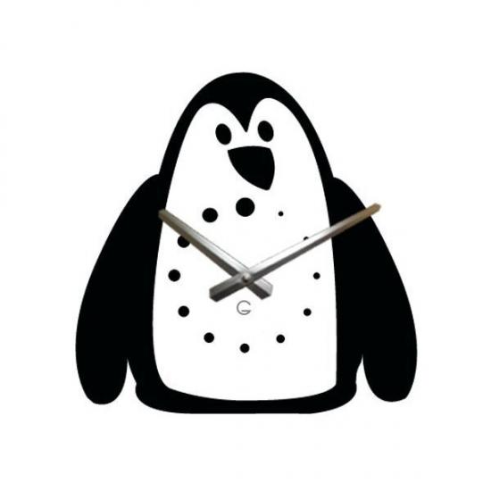 Фото - Детские настенные часы Penguin купить в киеве на подарок, цена, отзывы