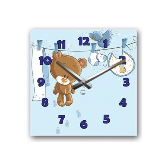 Фото - Детские настенные часы Teddy купить в киеве на подарок, цена, отзывы