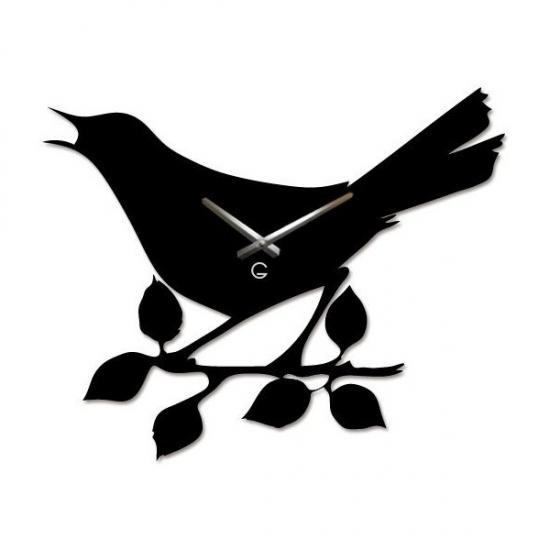 Фото - Дизайнерские настенные часы Bird купить в киеве на подарок, цена, отзывы
