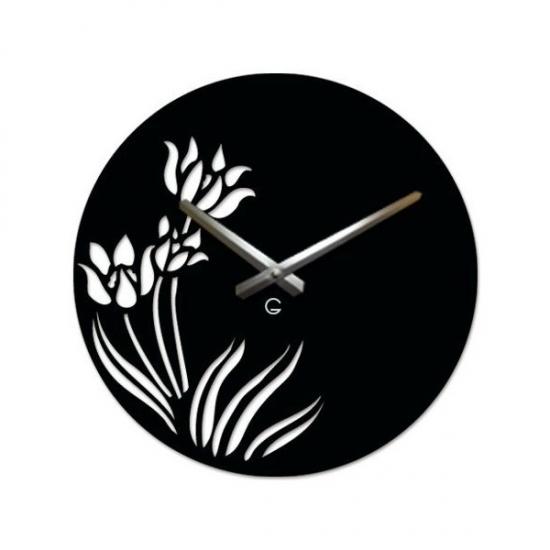 Фото - Дизайнерские настенные часы Tulips купить в киеве на подарок, цена, отзывы