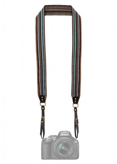 Фото - Дизайнерский ремень для фотоаппарата мятный шоколад купить в киеве на подарок, цена, отзывы