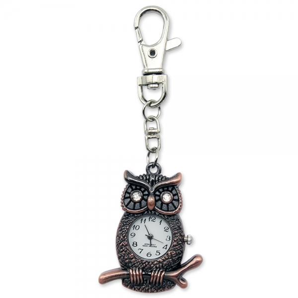 Фото - Флешка 8 Gb металл Сова с часами купить в киеве на подарок, цена, отзывы