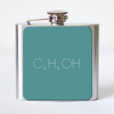Фото - Фляга формула спирта C2H5OH купить в киеве на подарок, цена, отзывы