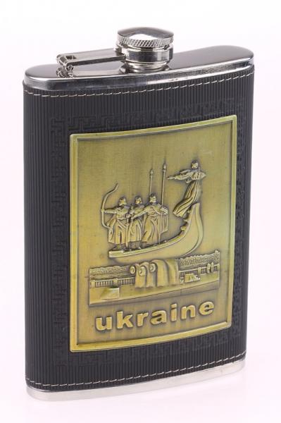 Фото - Фляга стальная Украина  купить в киеве на подарок, цена, отзывы