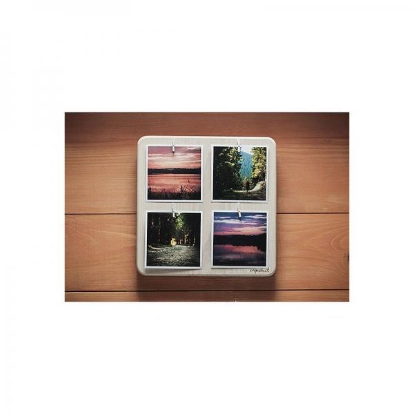 Фото - Фоторамка Coquelicot белая на 4 фото купить в киеве на подарок, цена, отзывы