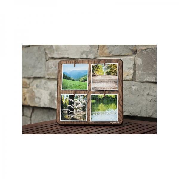 Фото - Фоторамка Coquelicot коричневая на 4 фото купить в киеве на подарок, цена, отзывы