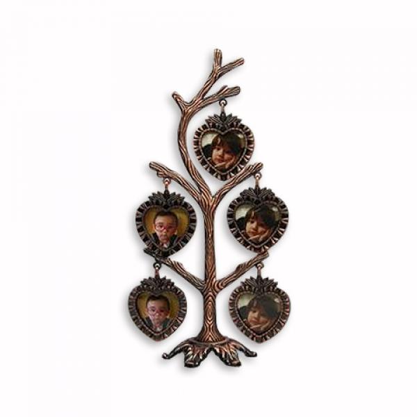 Фото - Фоторамка Фамильное дерево на 5 фото купить в киеве на подарок, цена, отзывы