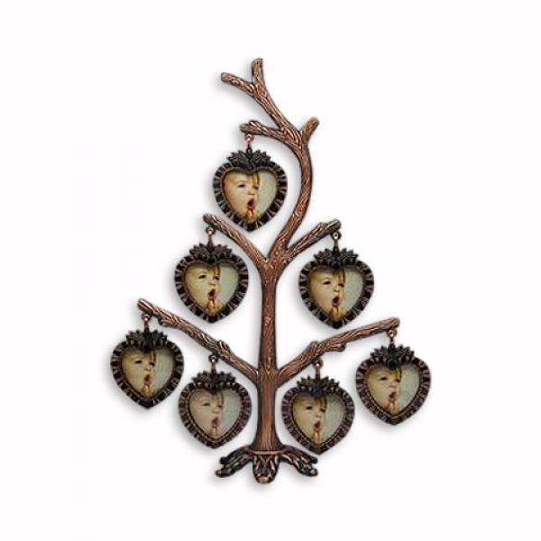 Фото - Фоторамка Фамильное дерево на 7 фото купить в киеве на подарок, цена, отзывы