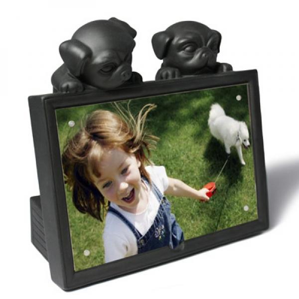 Фото - Фоторамка Мопсики купить в киеве на подарок, цена, отзывы