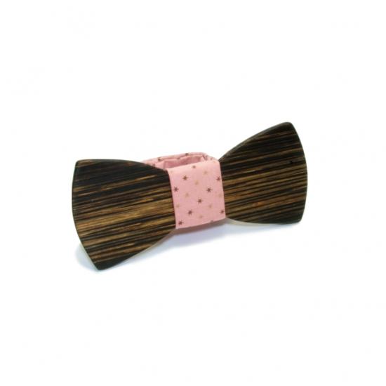 Фото - Галстук-бабочка из дерева Полиур купить в киеве на подарок, цена, отзывы