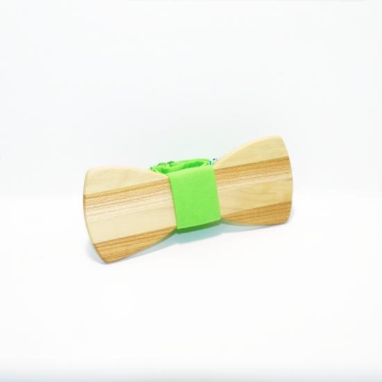 Фото - Галстук бабочка из дерева Алкет купить в киеве на подарок, цена, отзывы