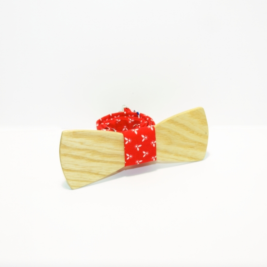 Фото - Галстук бабочка из дерева Аталий купить в киеве на подарок, цена, отзывы