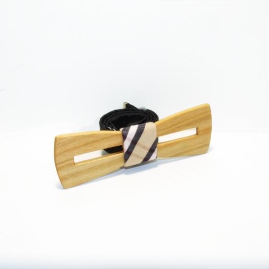 Фото - Галстук бабочка из дерева Брамей купить в киеве на подарок, цена, отзывы