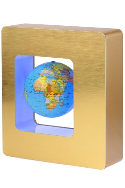 Фото - Глобус - левитация в квадрате,12 см купить в киеве на подарок, цена, отзывы