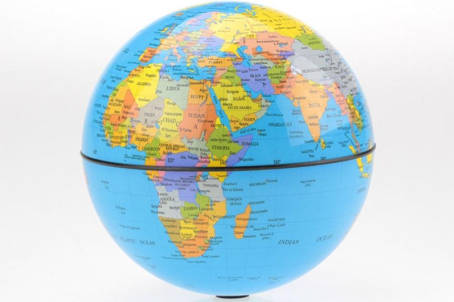 Фото - Глобус вращающийся круговорот 15 см купить в киеве на подарок, цена, отзывы