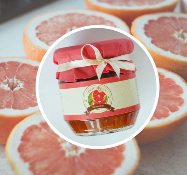 Фото - Грейпфрутовый мармелад купить в киеве на подарок, цена, отзывы