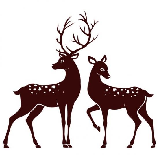 Фото - Интерьерная Наклейка Deer купить в киеве на подарок, цена, отзывы