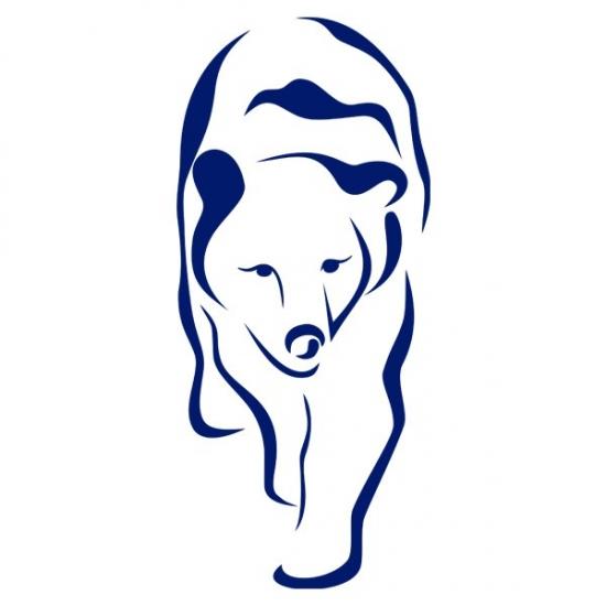 Фото - Интерьерная Наклейка Polar Bear купить в киеве на подарок, цена, отзывы
