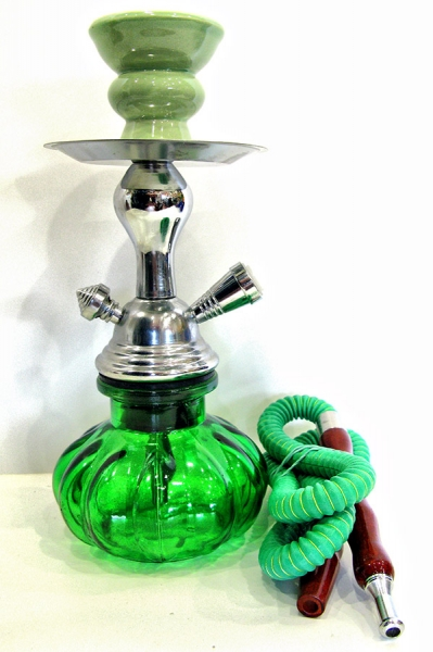 Фото - Кальян (на 1 персону)(25 см.) зеленый купить в киеве на подарок, цена, отзывы