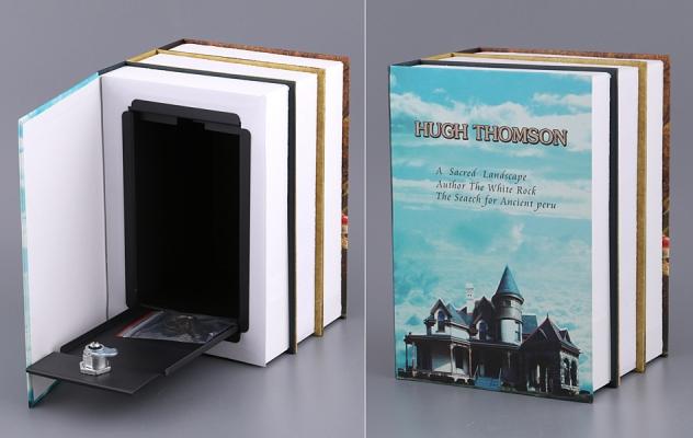 Фото - КНИГА СЕЙФ ХЬЮ ТОМСОН БОЛЬШАЯ , 22х15х13 СМ купить в киеве на подарок, цена, отзывы