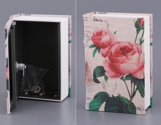 Фото - Книга сейф Роза 19см купить в киеве на подарок, цена, отзывы