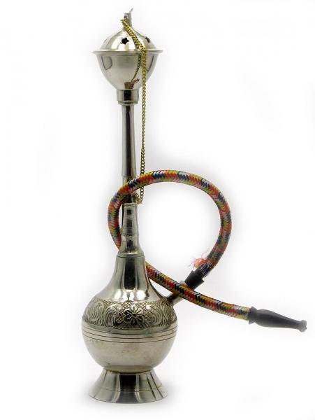 Фото - Кальян (на 1 персону)(10 см.) бронзовый белый купить в киеве на подарок, цена, отзывы