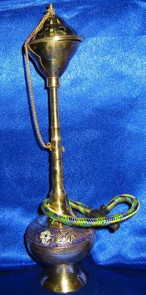 Фото - Кальян (на 1 персону)(10 см.) бронзовый цветной купить в киеве на подарок, цена, отзывы