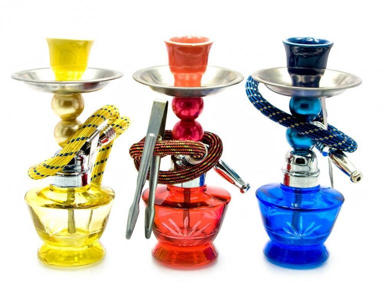Фото - Кальян (на 1 персону)(18Х6,5Х6,5 см.) зеленый, синий, красный купить в киеве на подарок, цена, отзывы
