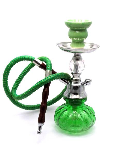 Фото - Кальян (на 1 персону)(27 см.)  зеленый купить в киеве на подарок, цена, отзывы