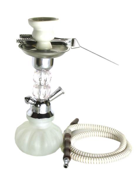 Фото - Кальян (на 1 персону)(31 см.) белый купить в киеве на подарок, цена, отзывы