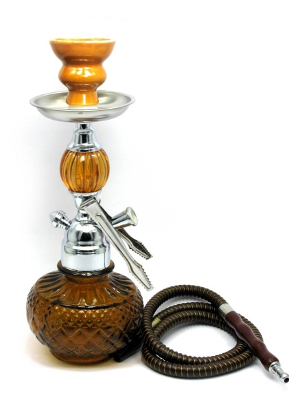 Фото - Кальян (на 1 персону)(32 см.) светло коричневый купить в киеве на подарок, цена, отзывы