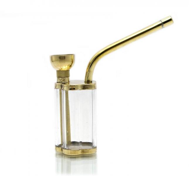 Фото - Кальян мини  (водяной фильтр для сигарет)11,5Х9,5Х3 см бронза, керамика купить в киеве на подарок, цена, отзывы