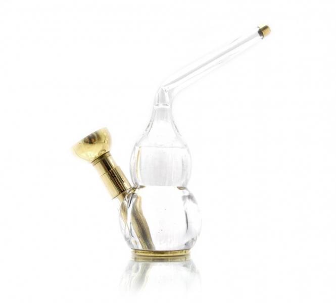 Фото - Кальян мини  (водяной фильтр для сигарет)11Х10Х3,5 см бронза, скло купить в киеве на подарок, цена, отзывы