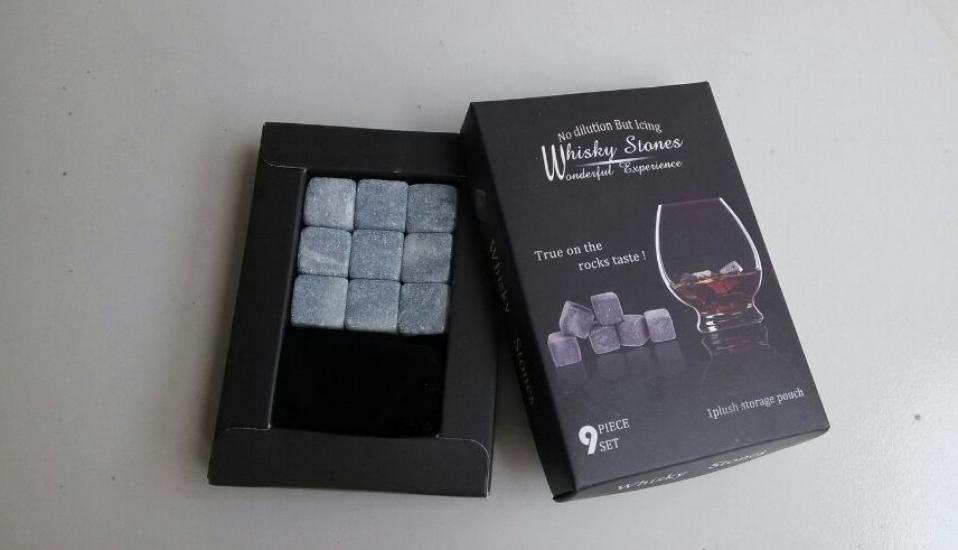 Фото - Камни для Виски Whiskey Stones Black купить в киеве на подарок, цена, отзывы
