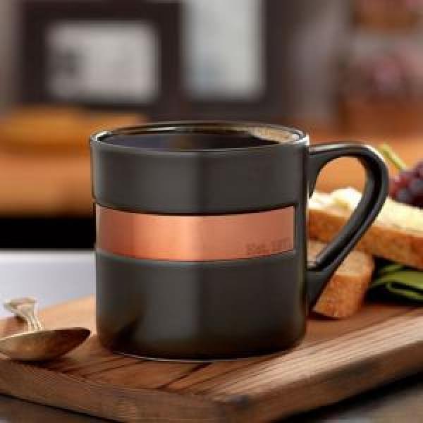 Фото - Керамическая чашка STARBUCKS черная купить в киеве на подарок, цена, отзывы