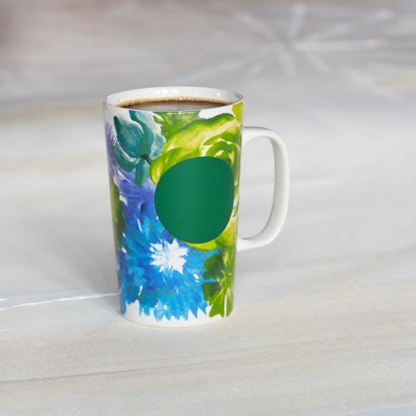 Фото - Керамическая чашка Starbucks Земля и Вода купить в киеве на подарок, цена, отзывы
