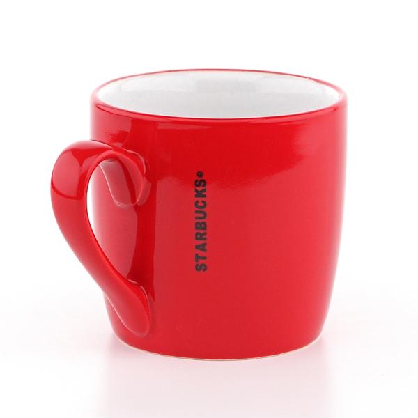 Фото - Керамическая красная чашка Starbucks купить в киеве на подарок, цена, отзывы
