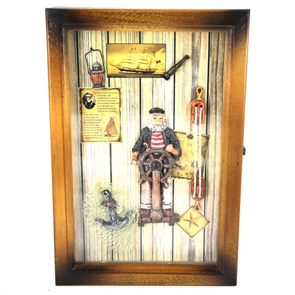 Фото - Ключница капитан купить в киеве на подарок, цена, отзывы