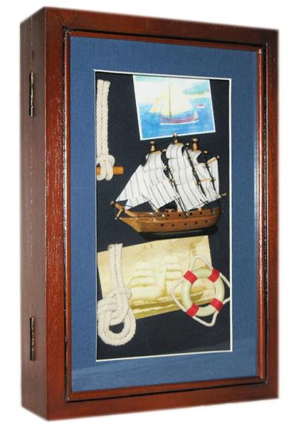 Фото - Ключница Морская Корабль купить в киеве на подарок, цена, отзывы
