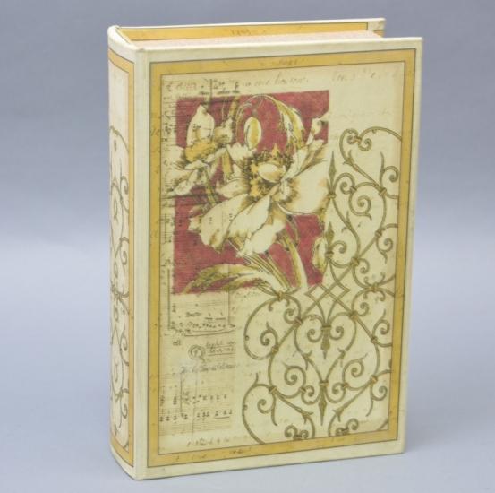 Фото - Книга-сейф с кодовым замком Цветок 27см купить в киеве на подарок, цена, отзывы