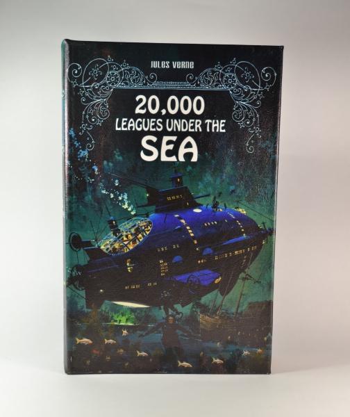 Фото - Книга сейф 20000лье под водой 26 см купить в киеве на подарок, цена, отзывы